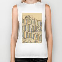 waves Biker Tanks featuring Ocean of love by Huebucket