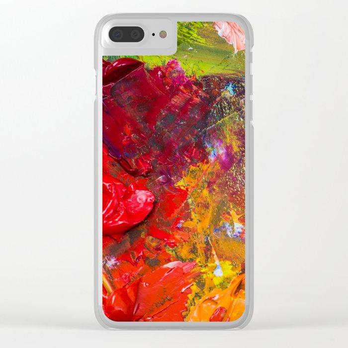 Palette Clear iPhone Case