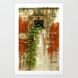 Evins Mill - Red Wall Art Print