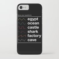 physics iPhone & iPod Cases featuring Know your Waveforms by Florent Bodart / Speakerine