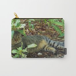 Kitty Camouflage Carry-All Pouch