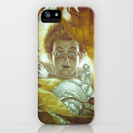 In the Kelp Forest iPhone Case