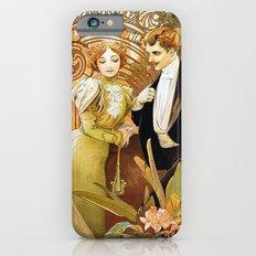 Alphonse Mucha Flirt Vintage Romantic Art Nouveau iPhone 6s Slim Case
