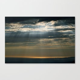 Cracks In The Clouds Canvas Print