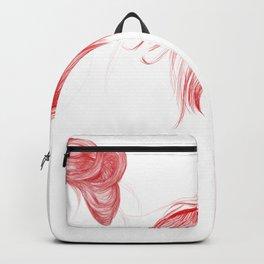 Three Red Girls Backpack