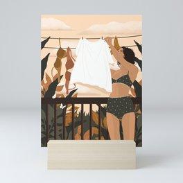 Mundane Morning Mini Art Print