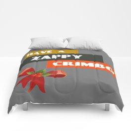 Have A Zappy Crimbo Comforters