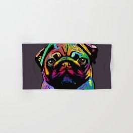 Pug Dog Hand & Bath Towel