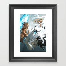 Chell Framed Art Print