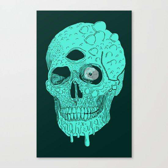 Beetle Skull  Canvas Print