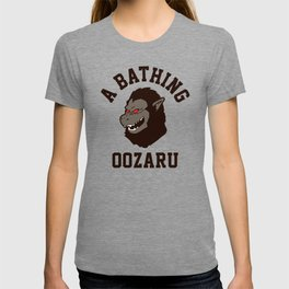 A Bathing Oozaru T-shirt