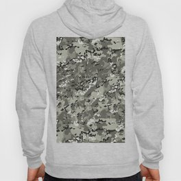 Beige White Popular Multi Camo Pattern Hoody