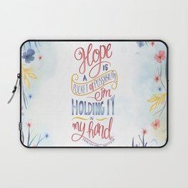 HOPE IS A POCKET OF POSSIBILITY Laptop Sleeve
