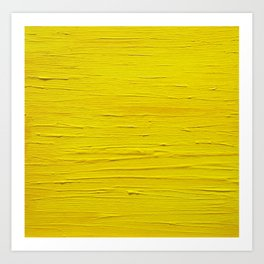 Sun. Oil painting Art Print