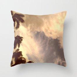 palm isles sky Throw Pillow