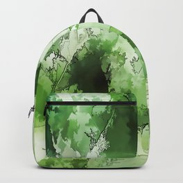 Compassion etched into the heart Backpack