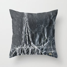 Cutouts - Lucky III Throw Pillow