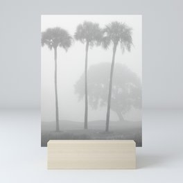Sea Island Fog Mini Art Print