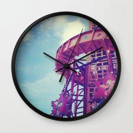 Disney Helter Skelter Wall Clock