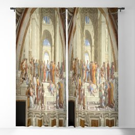 Raphael's The School of Athens Blackout Curtain