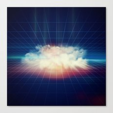 Disco Cloud Canvas Print