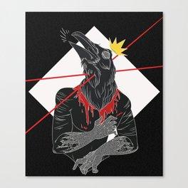 Raven Crest Canvas Print