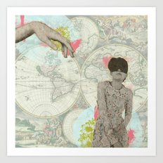 Feminine Collage I Art Print