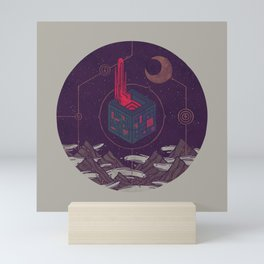 It Appeared in the Night Sky, and It Made the Wind Sharp Mini Art Print
