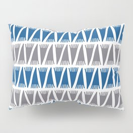 Tee Pee Lapis Blue Pillow Sham