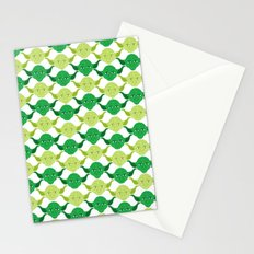 Star Wars Yoda Print Stationery Cards