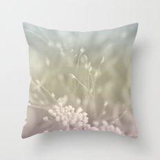 Pastel Flower Vibes #1 #decor #art #society6 Throw Pillow