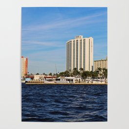 Fort Myers Yacht Basin Poster