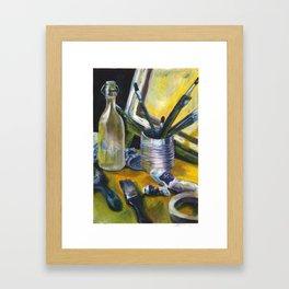 Artists Mess Framed Art Print