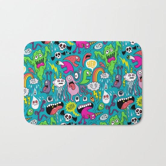 Monster Party Bath Mat