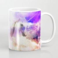 unicorn Mugs featuring Unicorn  by haroulita