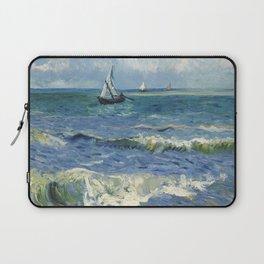 Vincent Van Gogh - Seascape at Saintes-Maries, 1888 Laptop Sleeve