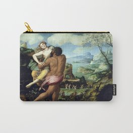 Alessandro Allori The Abduction of Proserpine Carry-All Pouch