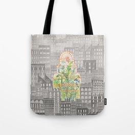 Eva City Glasshouse Tote Bag