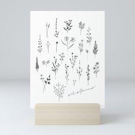Wildflowers II Mini Art Print
