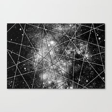 Fly Up to the Heavens (bnw) Canvas Print