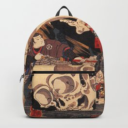 Takiyasha the Witch and the Skeleton Spectre, by Utagawa Kuniyoshi Backpack
