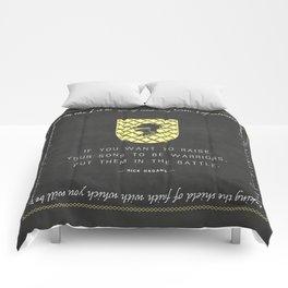 Warrior Sons — {Gold} Comforters