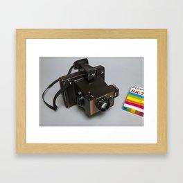 Polaroid Colour Swinger II Framed Art Print