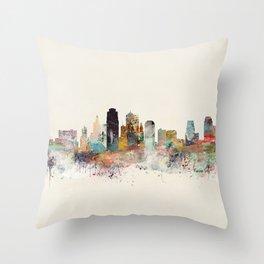 kansas city missouri Throw Pillow