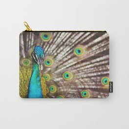 Describe Beauty: Peacock Carry-All Pouch