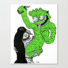 Vom-Goblin Canvas Print