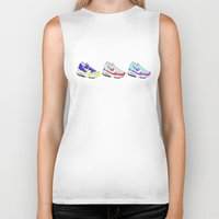 nike Biker Tanks featuring Nike Air by caseysplace