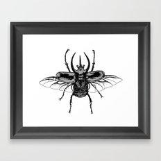 Scarab one Framed Art Print