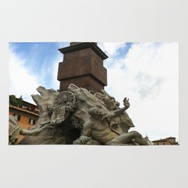 Fontana de Quattro Fumi, Rome Rug