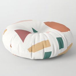 Abstract Geometric 30 Floor Pillow